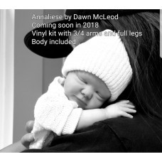 Annaliese Preemie  Kit sculpted and produced by Dawn McLeod  SNEAK PEEK