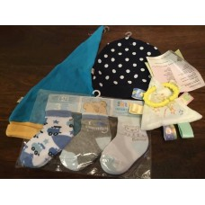 Baby accessories from Newborn upwards Hat, Socks, Baby Blanket