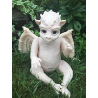 Draken the Dragon Fantasy  Vinyl Doll Kit by Sarah Mellman PRE ORDER