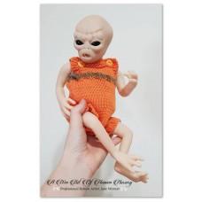 Iskadar Reborn Vinyl Doll Kit by Jade Warner  SNEAK PEEK