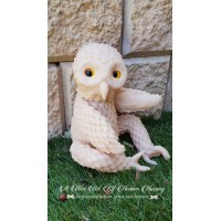Mertyl  Baby Barred Barn Owl Fantasy Vinyl Doll Kit SNEAK PEAK