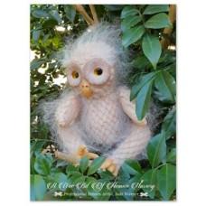 Mertyl  Baby Barred Barn Owl Fantasy Vinyl Doll Kit SNEAK PEAK