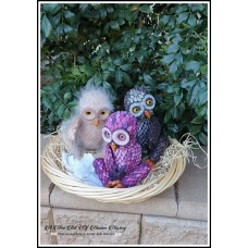Mertyl  Baby Barred Barn Owl Fantasy Vinyl Doll Kit  IN STOCK