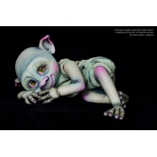 Puggles vinyl Baby Garden Gnome/Trollz kit sculpted by Jade Warner  IN STOCK