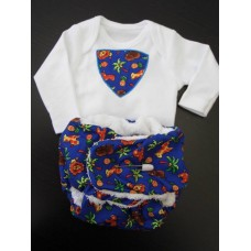 VEST AND NAPPY SET