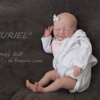 URIEL DOLL KIT SCULPTED  BY PRISCILLA LOPES SNEAK PEEK
