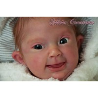 Vince Vinyl Reborn Doll Kit  Down Syndrome sculpted by Lilianne Breedveld  PRE ORDER